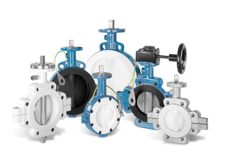 Butterfly Valve for Control, Throttling and Shut-off Duties