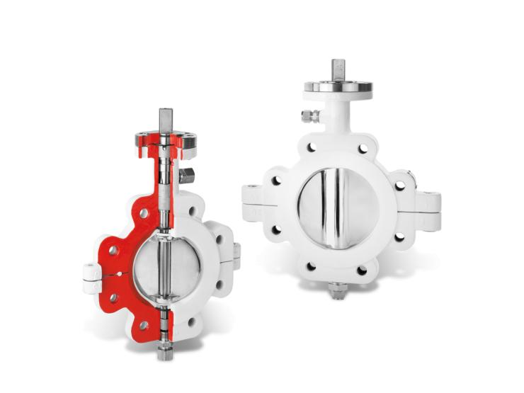 Butterfly Valves for Sterile Processes