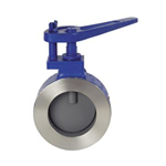 Butterfly valves - control